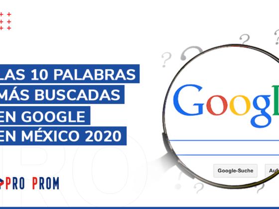 Las 10 palabras más buscadas en Google en México 2020