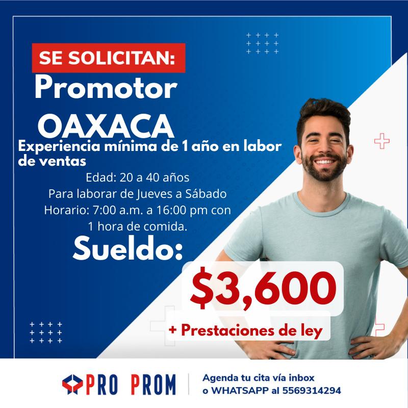 Promotor Oaxaca