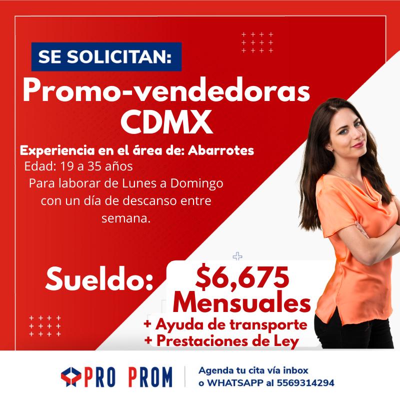 Promovendedora CDMX